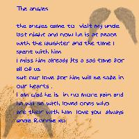 poem for my uncle xo rip