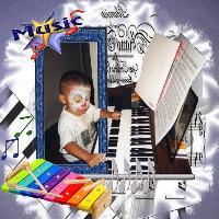 the musical clown