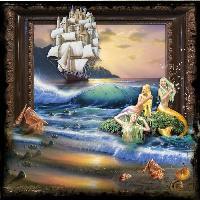 Magical seaside