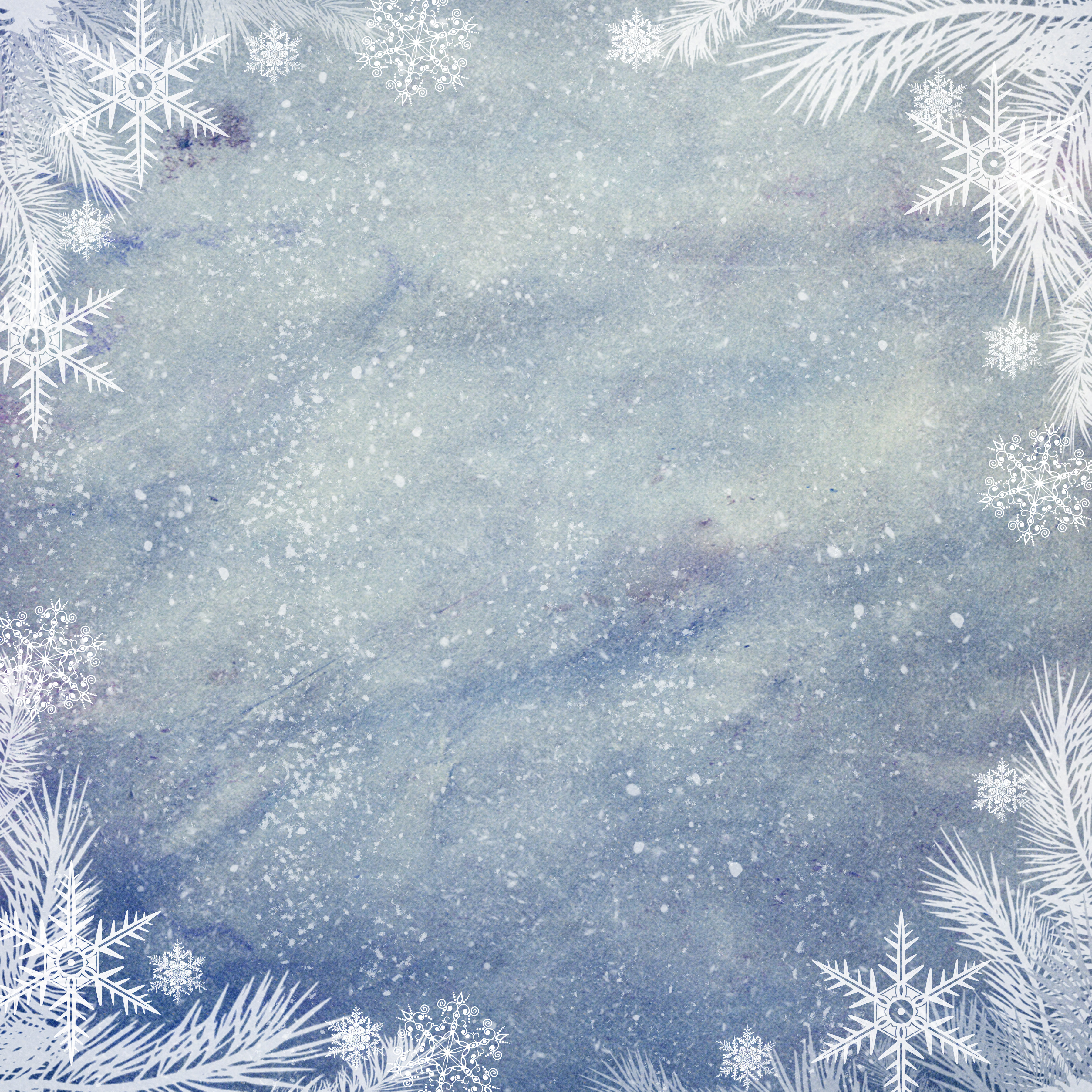 White Christmas Background.Blue And White Christmas Background Digital Scrapbooking