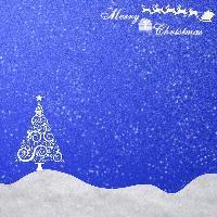 blue and white xmas background