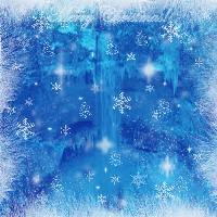 Holiday Blue and White Background