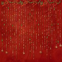 Christmas Red,Green and Gold Background