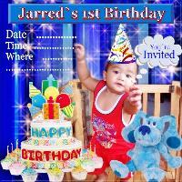 Jarred `s Birthday Invitation