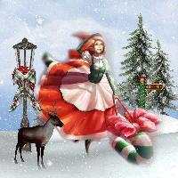 Sherry a christmas elf