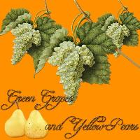 Green Grapes and Yellow Pears