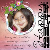Happy Birthday Srinidhi