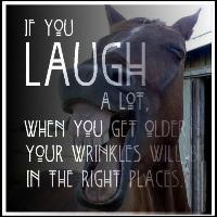 laugh turn those  wrinkles into sprinkles