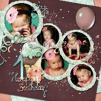 Sweet Leah's First Birthday