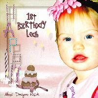 ~Leah Jade's 1st Birthday~