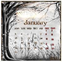 january calendar challenge