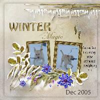 Coopers first winter