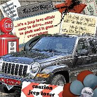 Caution Jeep Lover