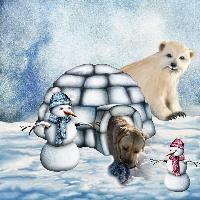 snow men and cooper