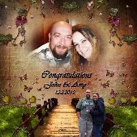 ~Congratulations John & Amy~