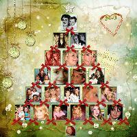 ~Claudia's Family Christmas Tree~