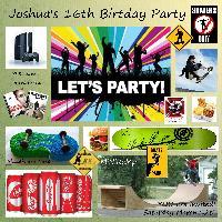 Joshua's 16th Birthday Party