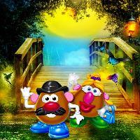 Mr. & Mrs. Potato Head, Moonlight Stroll