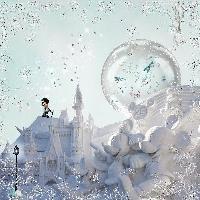 Snow Sculpture Disney