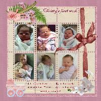 Christy's First Week