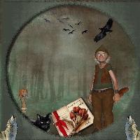 A magical Birthday Card for Amelia