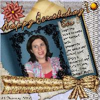 Happy Birthday, Sis 23/01/2011
