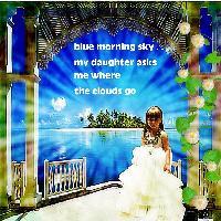 Blue Morning sky