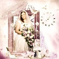 Soft and Pretty Bride...