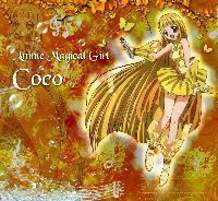 Anime Magical Girl Coco