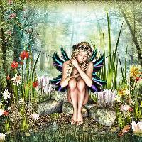 a-fairy-in-springtime
