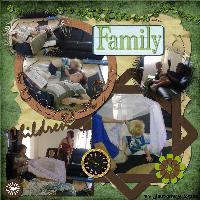 Scrap it Sassy ~ Family 15/01/2011