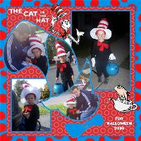 The Cat in the Hat for Halloween