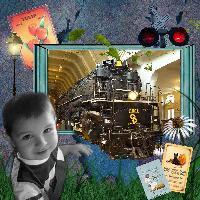 Tyson's Loves Trains