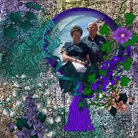 Lavender N Teal
