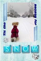 Ella's first snow