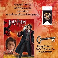 Harry at Hogwarts School of Witchcraft and Wizardy
