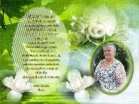 For Hilda and Family.....
