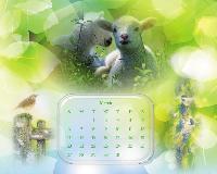 Wallpaper Calendar Mars 2011 1.....