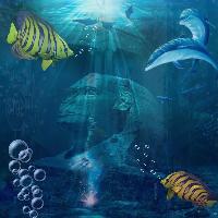 Underwater Sphinx