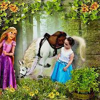 Lexi & Tangled Rapunzel 2