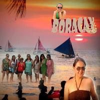 Liz in Boracay