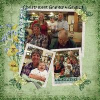 Christy With Great-Grandparents