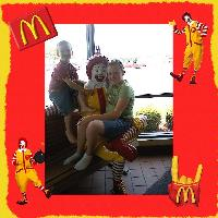 Fun at McDonalds
