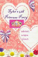 tyler 4th princess invite