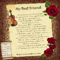 My Best Friend Poem