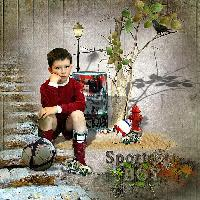 Sad Sports Boy