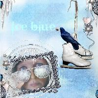 Ice blue - me and myself