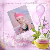 Elissa's First Birthday
