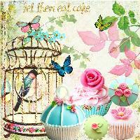 Let them eat cake.