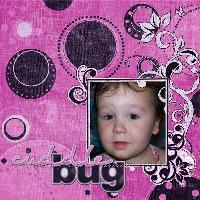 Delaney the cuddle bug